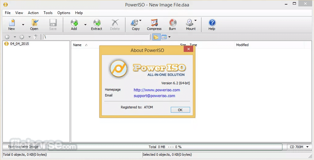 PowerISO 7.7 Crack